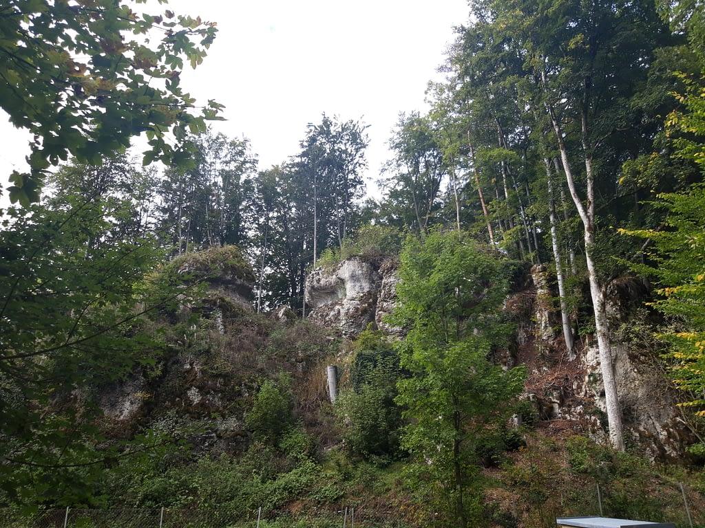 Landschaftlich schöner Weg nach Bärnfels