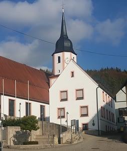 Stadtpfarrkirche St. Laurentius in Obertrubach