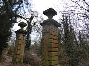 Einstiges Tor zum Schlosspark