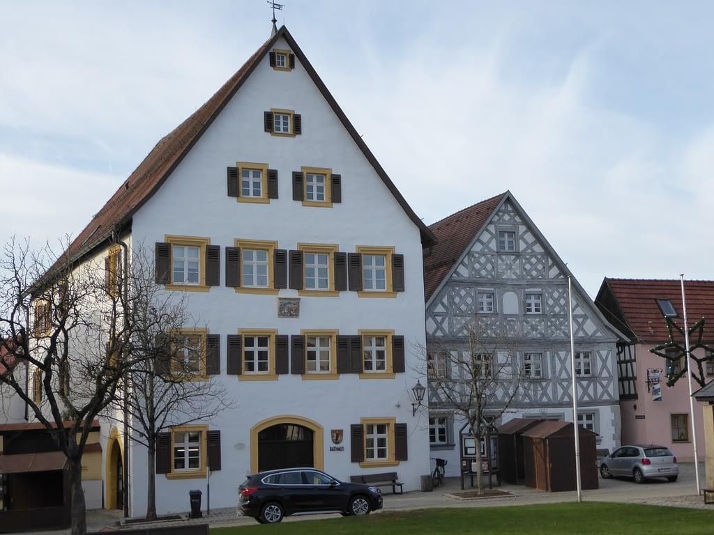 Rathaus in Hollfeld