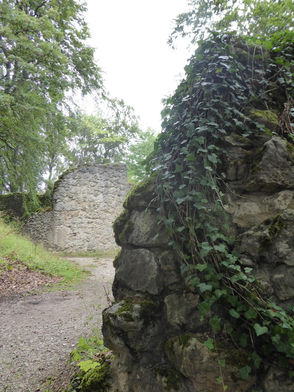 Grundmauern Burgruine