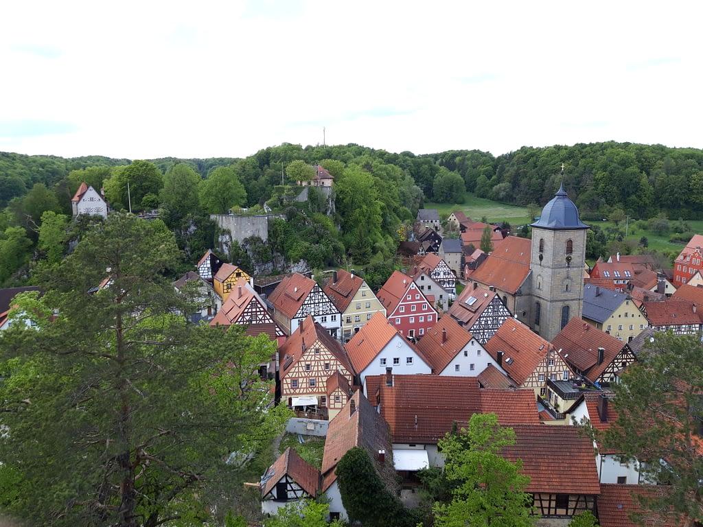 Stadtblick Schmidberg