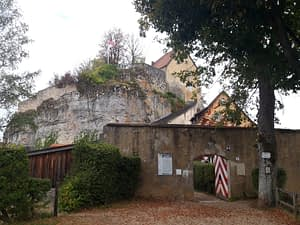 Haupttor Burg Pottenstein