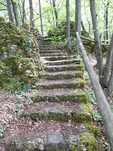 Treppen zum Schmidberg