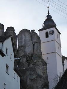 Felsen in Hiltpoltstein