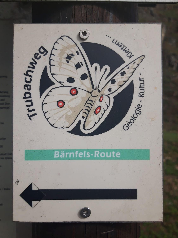 """Wegemarkierung """"Schmetterling"""""""