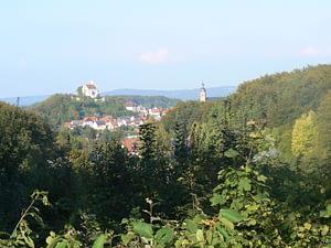 Panorama Gößweinstein von Süden