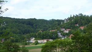Streitberg mit der Burgruine