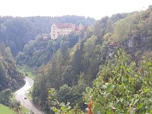 Burg Rabenstein vom Parasol