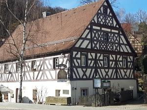 Zaussenmühle an der Pegnitzquelle