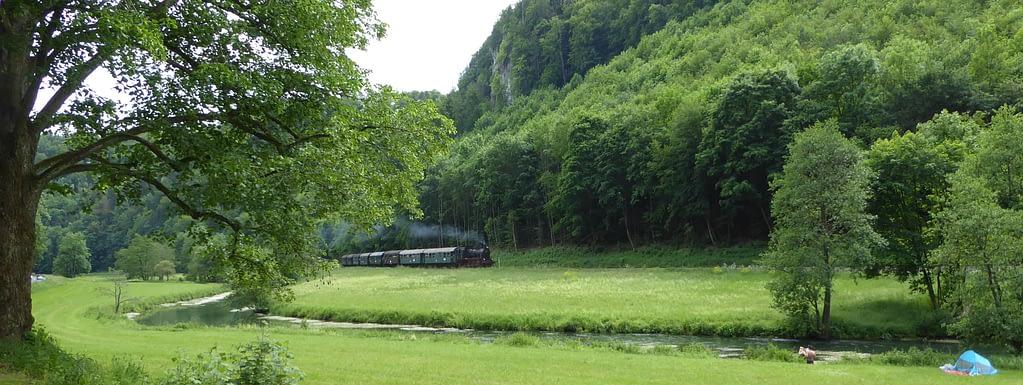 Dampfbahn im Wiesenttal
