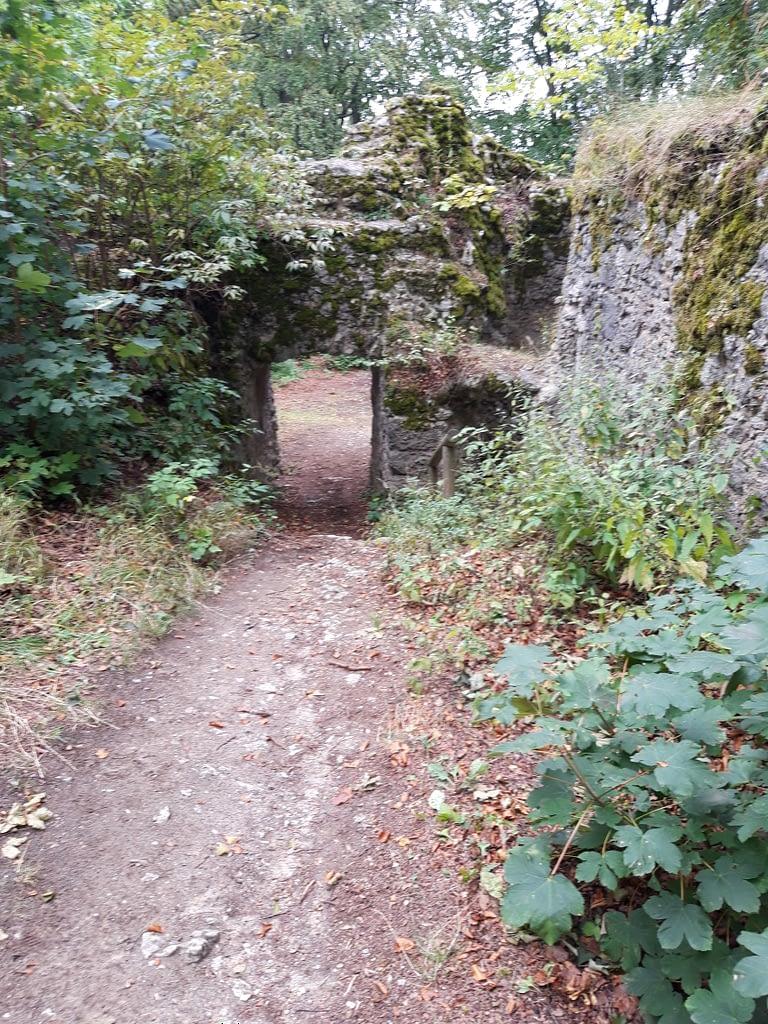Zugang zum Inneren der Burg